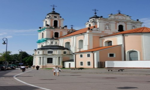 Zdjecie LITWA / - / Wilno / Kościół św. Katarzyny w Wilnie