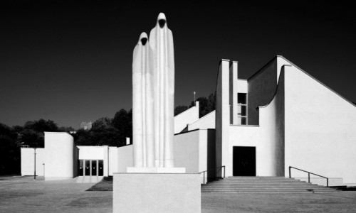 Zdjecie LITWA / - / Kowno / Modernistyczna architektura w Kownie
