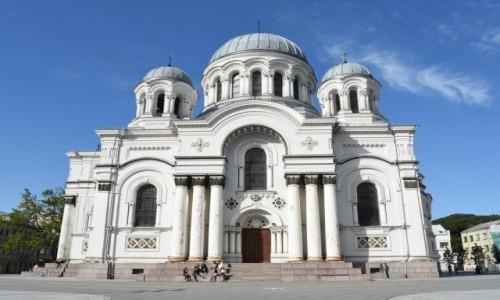 Zdjecie LITWA / Nizina Środkowolitewska / Kowno / Kowno, cerkiew św. Michała