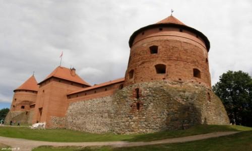 Zdjecie LITWA / Pojezierze Wileńskie. / Troki. / Troki - Zamek.