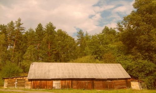 Zdjęcie LITWA / Auksztota / Pojezierze Auksztockie / litewska wieś