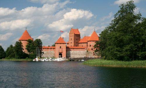 Zdjecie LITWA / brak / Troki / Zamek w Trokach