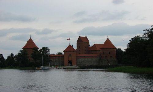 Zdjęcie LITWA / Wileńszczyzna / Troki / zamek w Trokach
