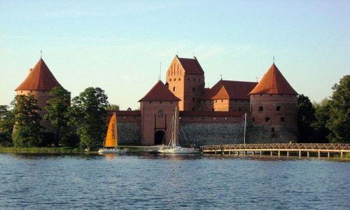 Zdjęcie LITWA / Litwa / Troki / Zamek na wyspie