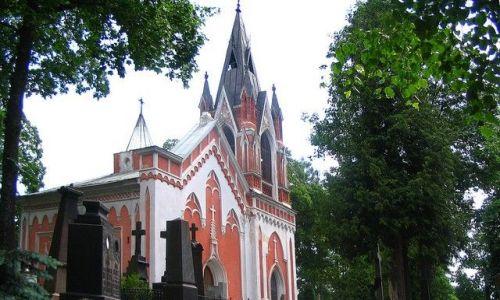 LITWA / - / Wilno / kaplica cmentarna na Rossie
