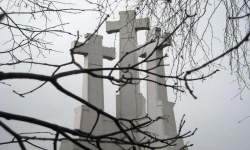 Zdjęcie LITWA / Wileńszczyzna / Wilno - Góra Trzech Krzyży / jesiennie