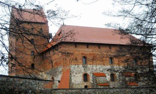 Zdjęcie LITWA / wileńszczyzna / Troki / jesienne Troki