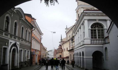 Zdjecie LITWA / Wilno / Stare Miasto / jesienne Wilno