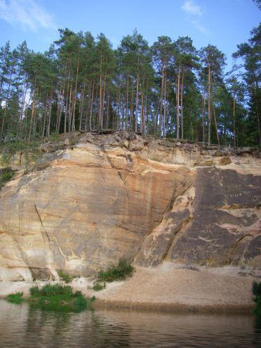 Zdjęcia: Park Narodowy Rzeki Gauji, Nad rzeką2, ŁOTWA