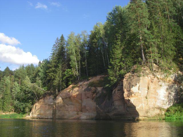 Zdjęcia: Park Narodowy Rzeki Gauji, nad rzeką4, ŁOTWA