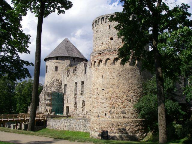 Zdjęcia: Cesis, na zamku, ŁOTWA