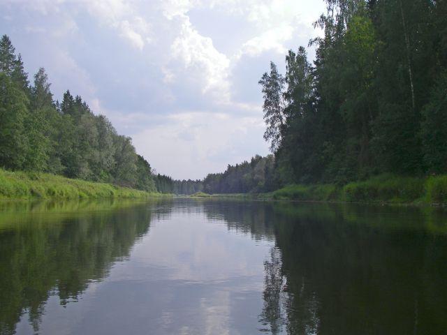 Zdjęcia: Nad Gaują, Nad wodą, ŁOTWA