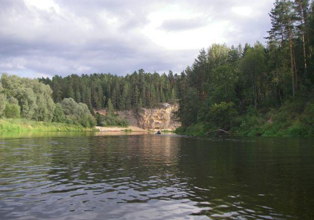 Zdjęcia: Gauja, Łotwa, Park Narodowy Rzeki Gauji , ŁOTWA