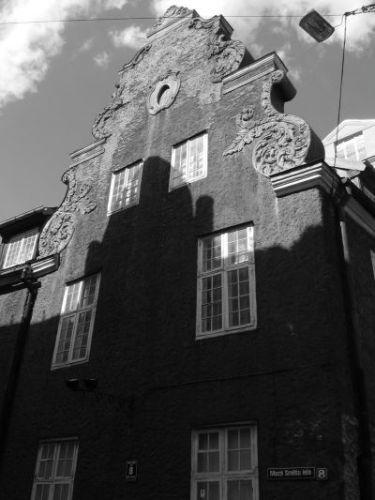 Zdjęcia: ryga, kamienica poźnym popołudniem, ŁOTWA