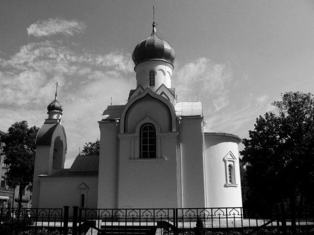 Zdjęcia: daugavpils, malutka cerkiew, ŁOTWA