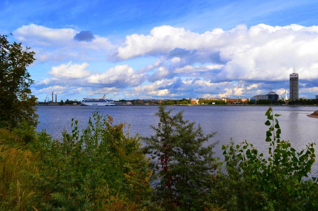 Zdjęcia: Ryga, Kurlandia, Z drugiej strony Dźwiny, ŁOTWA