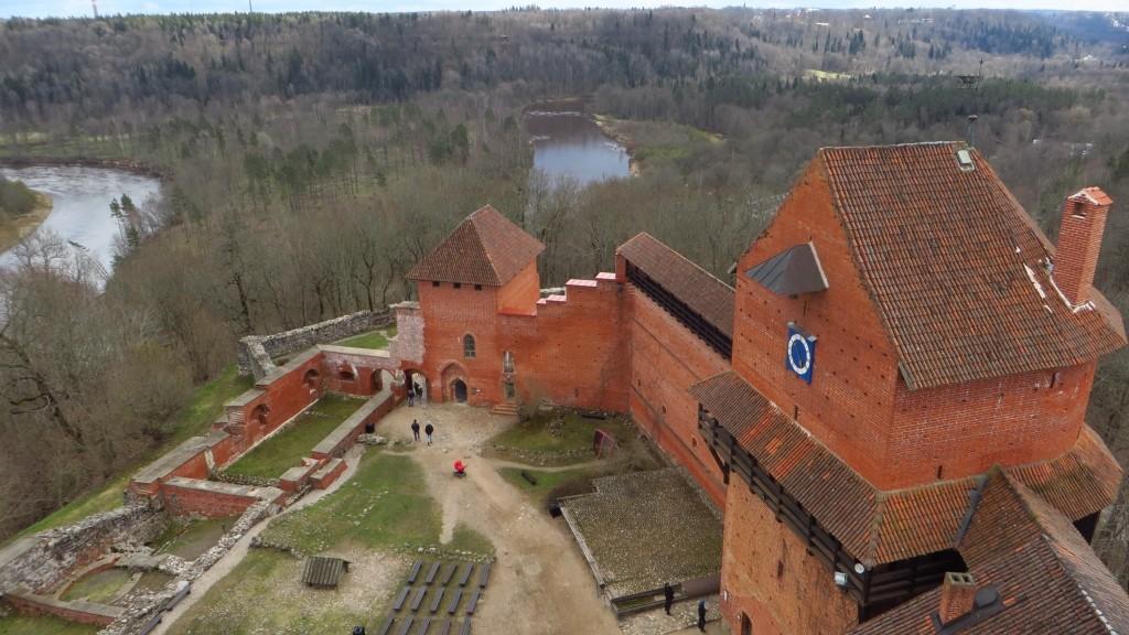 Zdjęcia: Turaida, Park Narodowy Gauja, zamek krzyżacki, ŁOTWA