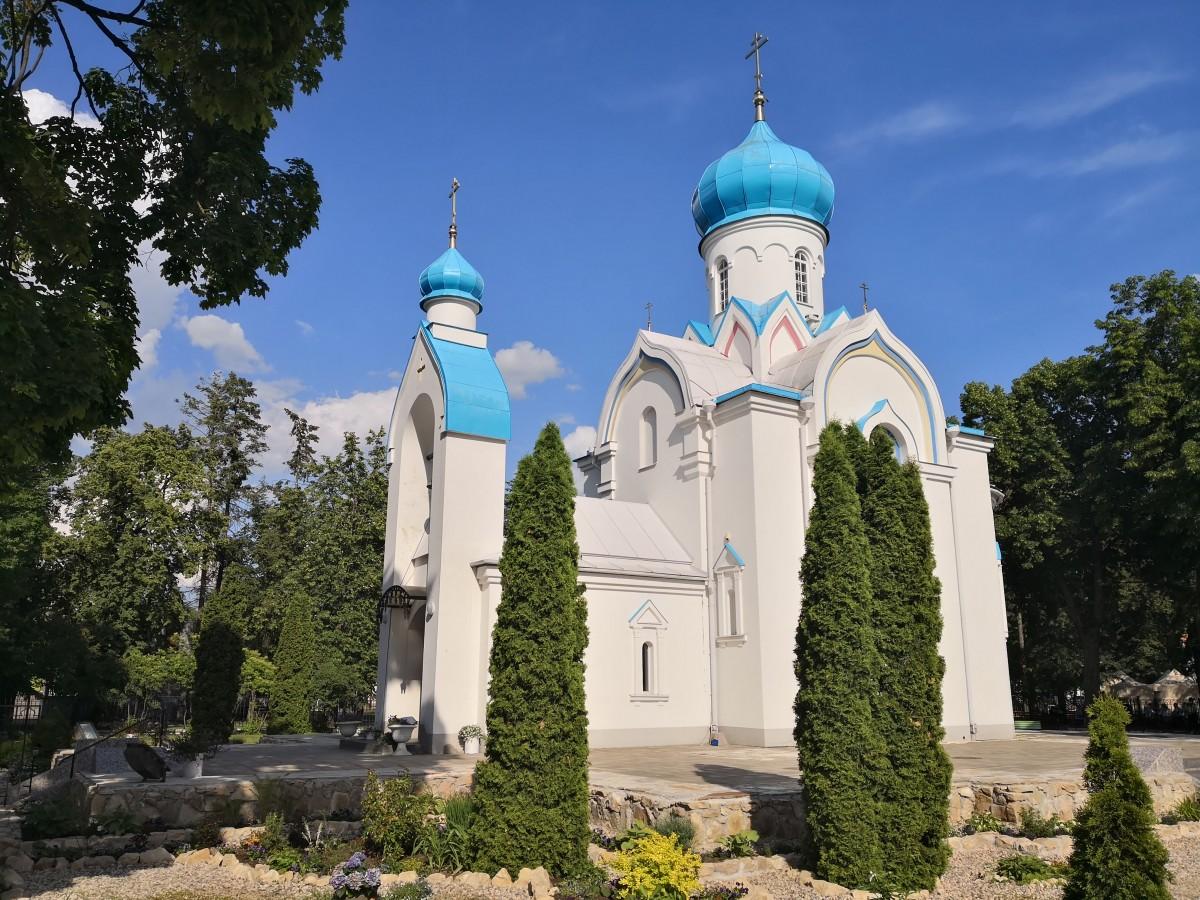Zdjęcia: Dyneburg, Dyneburg, Cerkiew - symbol, ŁOTWA