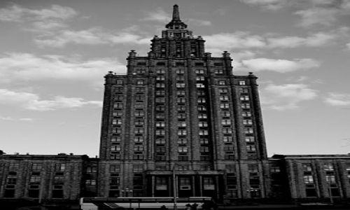 Zdjecie ŁOTWA / - / Ryga / Uważaj to nie chmury, to Pałac Kultury - podobny?