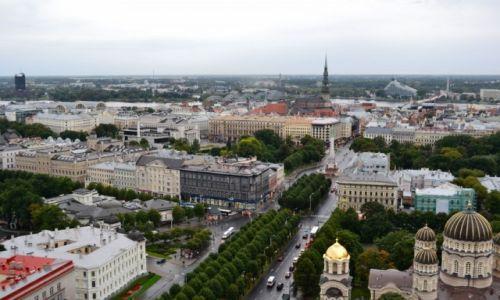 Zdjęcie ŁOTWA / Kurlandia / Ryga / Panorama Rygi