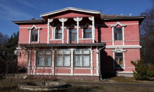 Zdjecie ŁOTWA / Południowo - zachodnia Łotwa / Lipawa (Liepaja) / Drewniane domki z XIX w