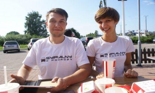 ŁOTWA / miasto / Ryga / Pierwszy McDonald za granicą