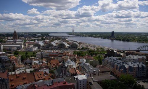 Zdjęcie ŁOTWA / - / Ryga / Moskiewskie Przedmieście