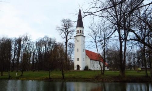 Zdjęcie ŁOTWA / okolice Rygi / Sigulda / Kościół protestancki