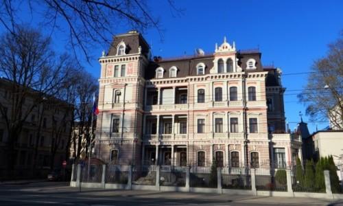Zdjecie ŁOTWA / Ryga / Ryga / neobarok łotewski