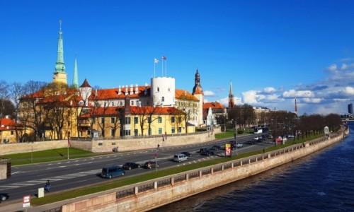 Zdjęcie ŁOTWA / Ryga / Ryga / Zamek Ryski