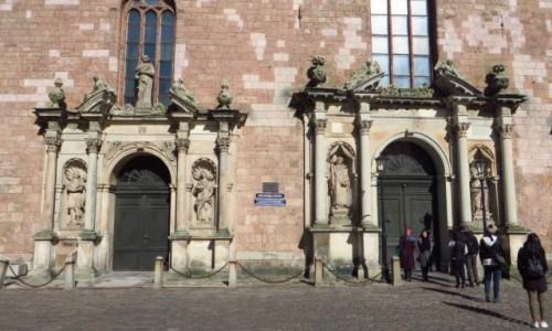 Zdjęcie ŁOTWA / Ryga / Ryga / kościół św. Piotra - fasada