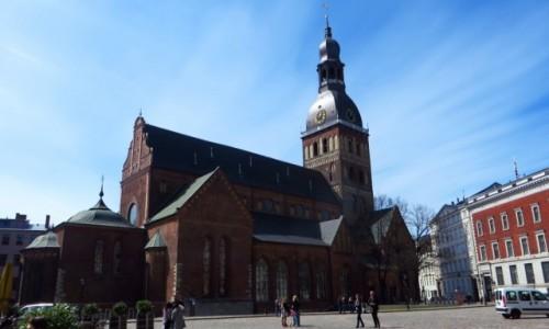 Zdjęcie ŁOTWA / Ryga / Ryga / katedra protestancka