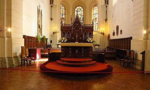 Zdjęcie ŁOTWA / Ryga / Ryga / katedra protestancka - wnętrze