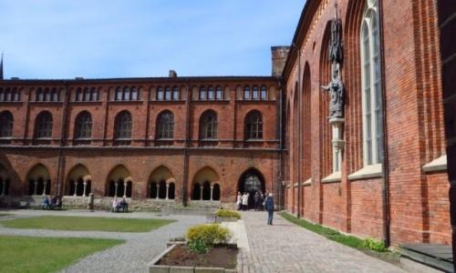 Zdjęcie ŁOTWA / Ryga / Ryga / wirydarz katedralny