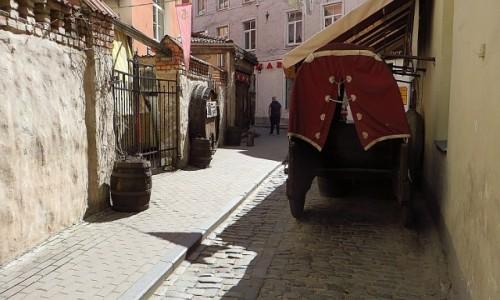 Zdjęcie ŁOTWA / Ryga / Ryga / Rozena iela - najwęższa ulica Rygi