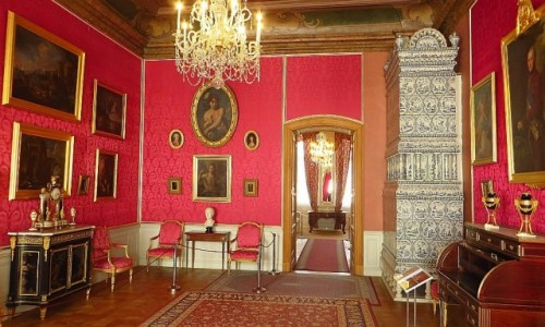 Zdjęcie ŁOTWA / Kurlandia / Rundale / pałac w Rundale