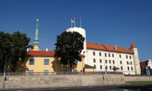 Zdjecie ŁOTWA / Riga / Centrs / Ryski zamek