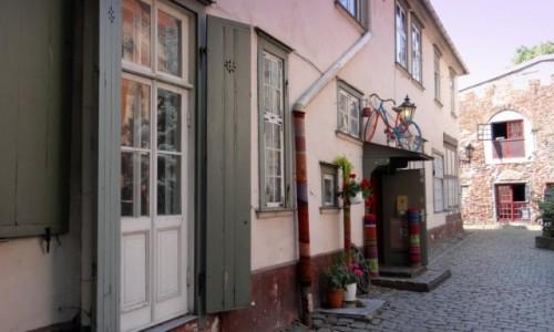 Zdjęcie ŁOTWA / Riga / Centrs / Wełniany sklepik