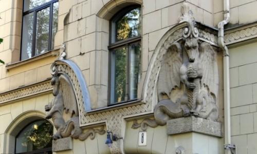 Zdjęcie ŁOTWA / Riga / Centrs / Strażnicy