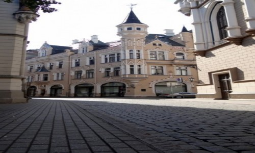 Zdjęcie ŁOTWA / Riga / Centrs / Perełka za winklem