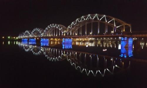 Zdjęcie ŁOTWA / Ryga / Ryga / Ryga nocą