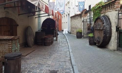 Zdjęcie ŁOTWA / Ryga / Ryga / W zaułkach starego miasta