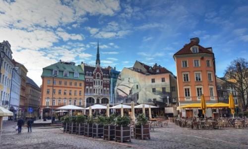 Zdjęcie ŁOTWA / Ryga / Ryga / Poranek na Starym Mieście