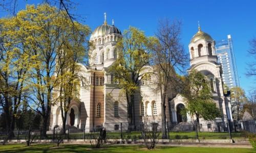 Zdjęcie ŁOTWA / Ryga / Ryga / Wiosenna cerkiew