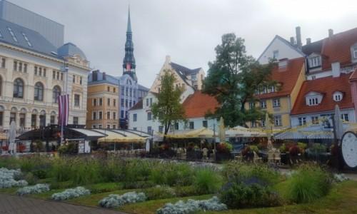 Zdjęcie ŁOTWA / Ryga / Stare miasto / Ryga w jesiennych barwach