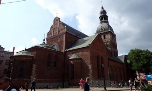 Zdjecie ŁOTWA / - / Ryga / Katedra w Rydze