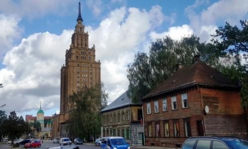Zdjecie ŁOTWA / Ryga / Moskiewskie Przedmieście / Moskiewskie przedmieście. Tam gdzie czas stanął w miejscu