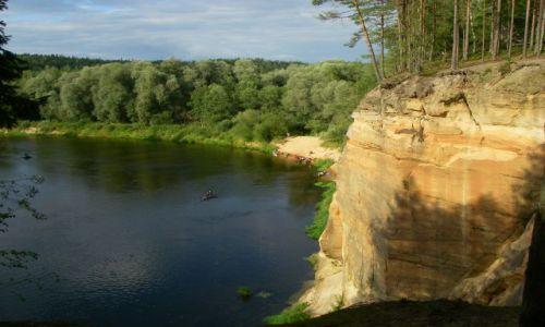 Zdjęcie ŁOTWA / Łotwa / Park Narodowy Rzeki Gauji / Wspomnienia z wakacji...