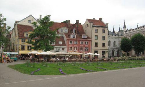 Zdjecie ŁOTWA / Ryga / Ryga - Stare Miasto    / Kamieniczki