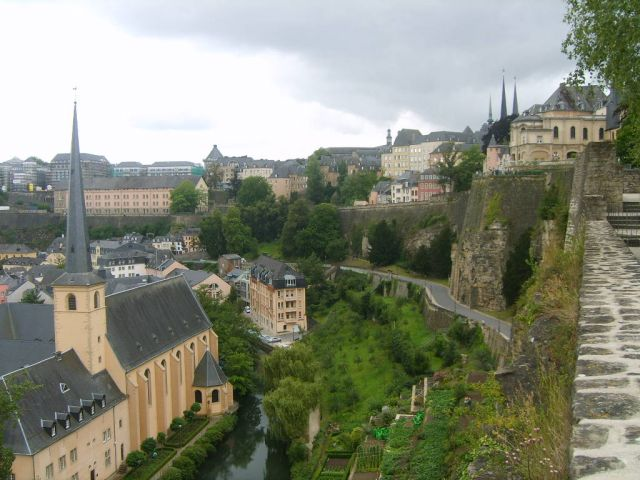 Zdj�cia: Stolica:), Luksemburg, Najpi�kniejsza stolica Europy..., LUKSEMBURG
